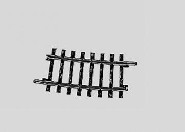 Märklin 2234 <br/>Gleis, gebogen, r 424,6 mm, 7°30′ 1