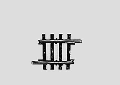 Märklin 2235 <br/>Gleis, gebogen, r 424,6 mm, 3°45'