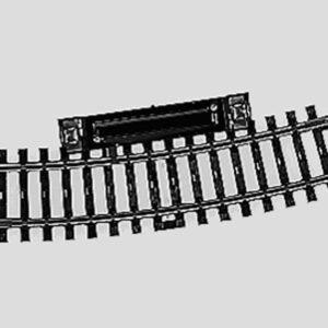 Märklin 2239 Schalt-Gleis, gebogen, r424,6mm,15°