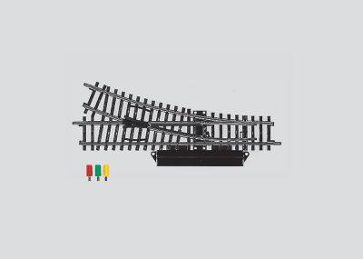 Märklin 2263 <br/>Weiche mit elektromagnetischem Antrieb, rechts, r424,6 mm