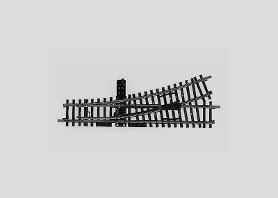 Märklin 2265 <br/>Weiche, mit manueller Bedienung, links, r424,6 mm