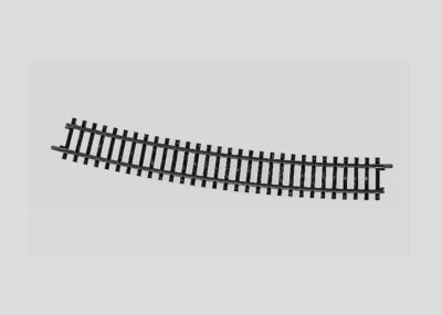 Märklin 2274 <br/>Gleis, gebogen, r 902,4 mm, 14°26