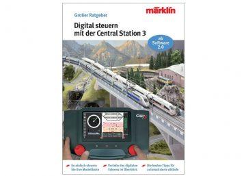 """Märklin 3083 <br/>Ratgeber """"Digital-Steuerung mit der Central Station 3"""" 1"""