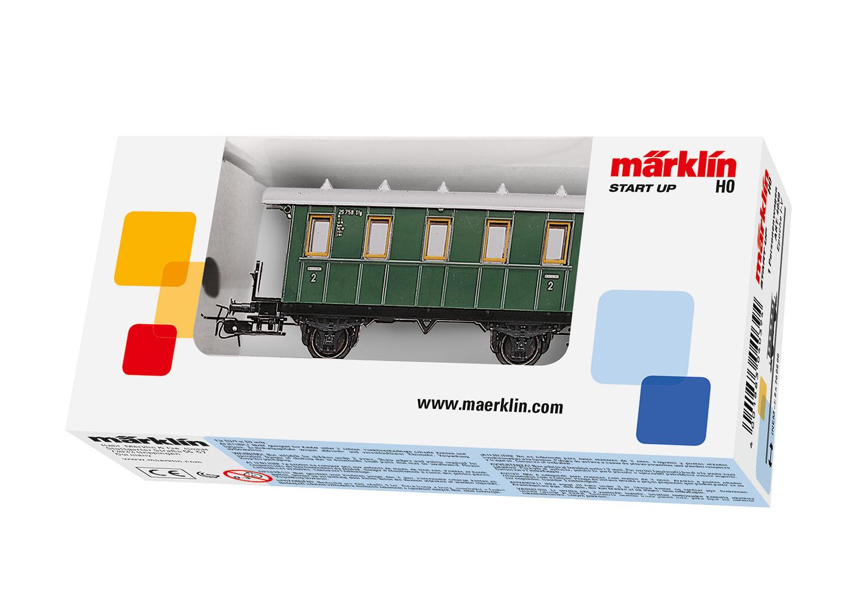 Märklin 4039 <br/>Personenwagen, 2. Klasse
