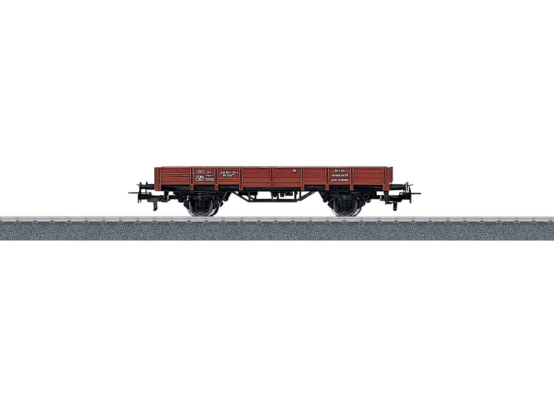 Märklin 4423 <br/>Niederbordwagen DB
