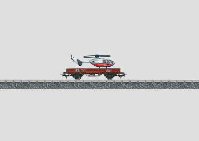 Märklin 4424 <br/>Niederbordwagen mit Ladegut