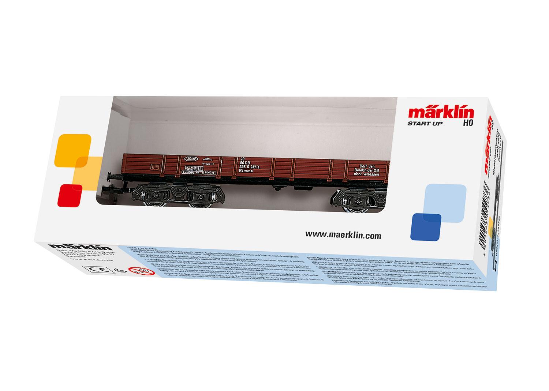 Märklin 4473 <br/>Niederbordwagen DB