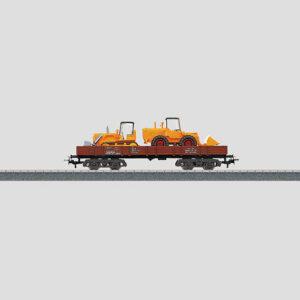 Märklin 4474 Niederbordwagen bel. DB
