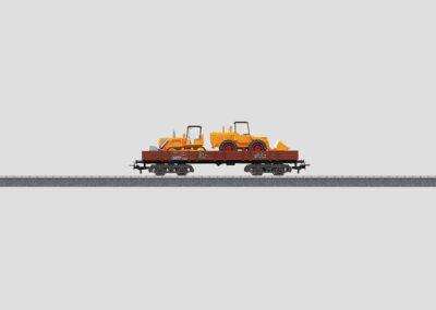 Märklin 4474 <br/>Niederbordwagen bel. DB