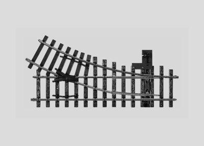 Märklin 5966 <br/>Weiche, mit manueller Bedienung, rechts, r600 mm, 30