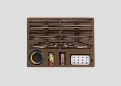 Märklin 8191 <br/>Erweiterungspackung  E mit Weiche mit elektromagnetischem Antrieb
