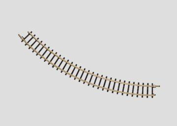 Märklin 8510 <br/>Gleis, gebogen,  r195 mm, 45° 1