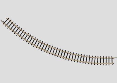Märklin 8520 <br/>Gleis, gebogen, r 195 mm, 45°