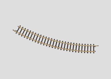 Märklin 8521 <br/>Gleis, gebogen, r 195 mm, 30° 1
