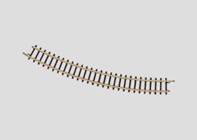 Märklin 8521 <br/>Gleis, gebogen, r 195 mm, 30°