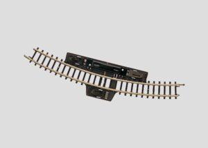 Märklin 8529 <br/>Schalt-Gleis, gebogen, r195 mm, 30°