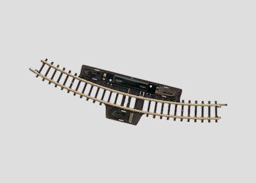 Märklin 8529 <br/>Schalt-Gleis, gebogen, r195 mm, 30° 1