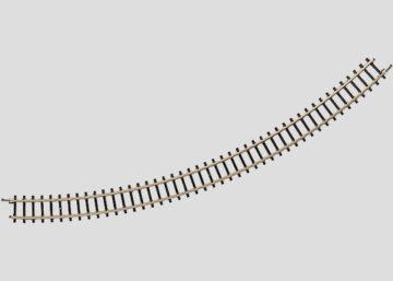 Märklin 8530 <br/>Gleis, gebogen, r 220 mm, 45° 1