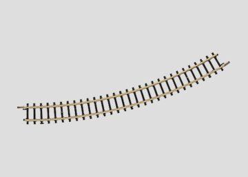 Märklin 8531 <br/>Gleis, gebogen, r 220 mm, 30° 1