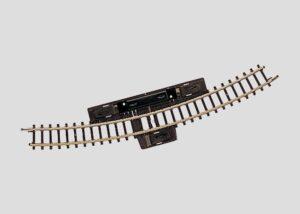 Märklin 8539 <br/>Schalt-Gleis, gebogen, r220 mm, 30°