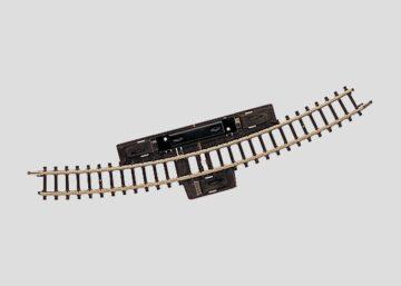 Märklin 8539 <br/>Schalt-Gleis, gebogen, r220 mm, 30° 1