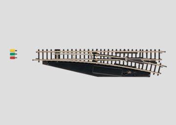 Märklin 8563 <br/>Weiche mit elektromagnetischem Antrieb, rechts, r490 mm 1