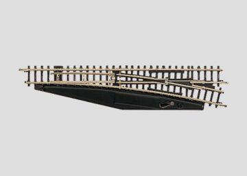 Märklin 8566 <br/>Weiche, mit manueller Bedienung, rechts, r490 mm 1