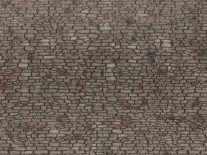 NOCH 60371 <br/>Bruchsteinmauerrwerk 10 cm breit, 28 cm lang