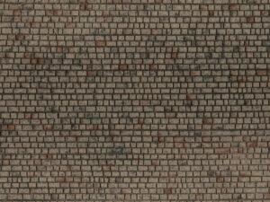 NOCH 60372 <br/>Mauerwerk Quader 10 cm breit, 28 cm lang