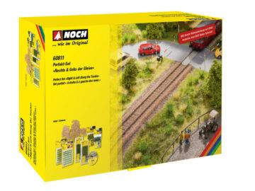 "NOCH 60811 <br/>Perfekt-Set ""Rechts & links der Gleise""  1"