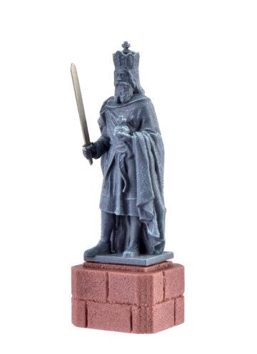 Vollmer 48288 <br/>H0 Karl der Große Statue 3