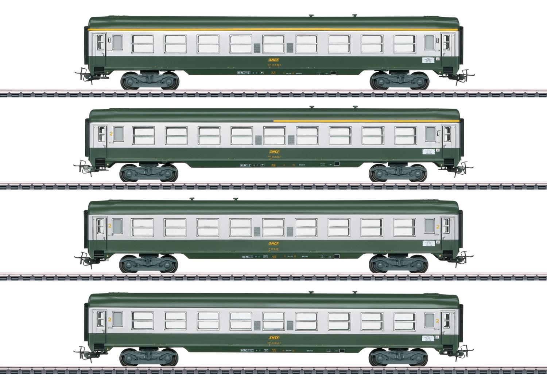 """Märklin 40691 <br/>Französisches Schnellzugwagen-Set """"Tin Plate"""""""