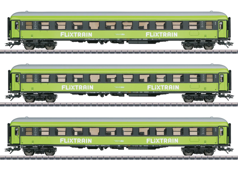 Märklin 42955 <br/>Personenwagen-Set Flixtrain