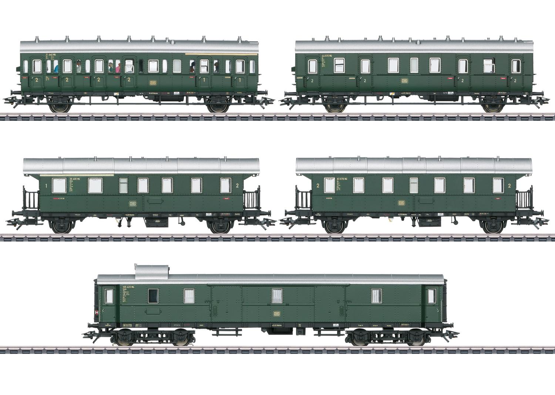 Märklin 43144 <br/>Personen-Wagenset zur E 44.5