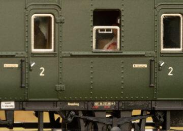 Märklin 43144 <br/>Personen-Wagenset zur E 44