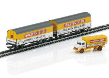 Märklin 46172 <br/>Bierwagen-Set Holsten DB 1