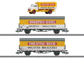 Märklin 46172 <br/>Bierwagen-Set Holsten DB 2