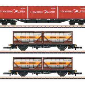 Märklin 82663 Containertragwagen-Set DB AG