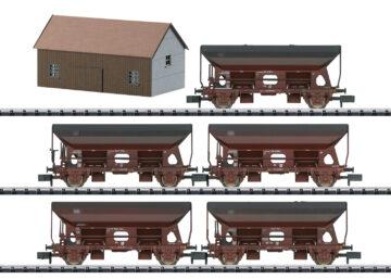 """TRIX 15536 <br/>Güterwagen-Set """"Seitenentladewagen"""" 1"""