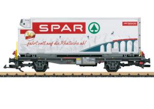 LGB 46897 <br/>Containerwagen Spar RhB