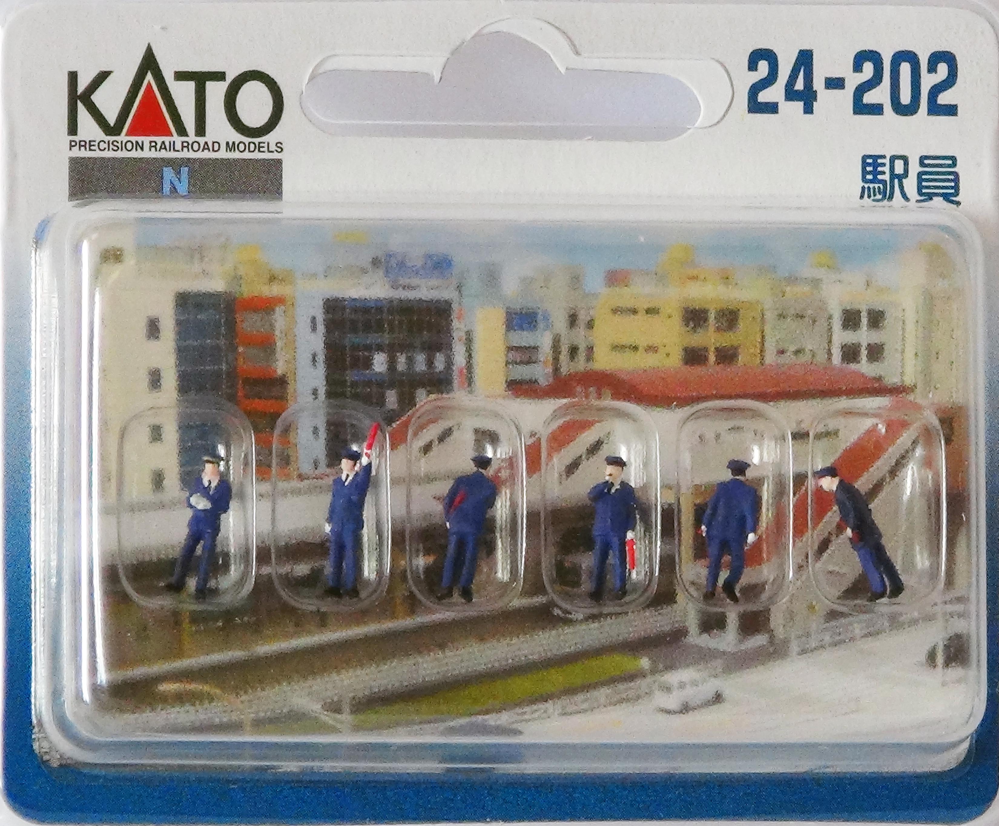 KATO 7024202 <br/>Figuren Japanisches Bahnhofsp
