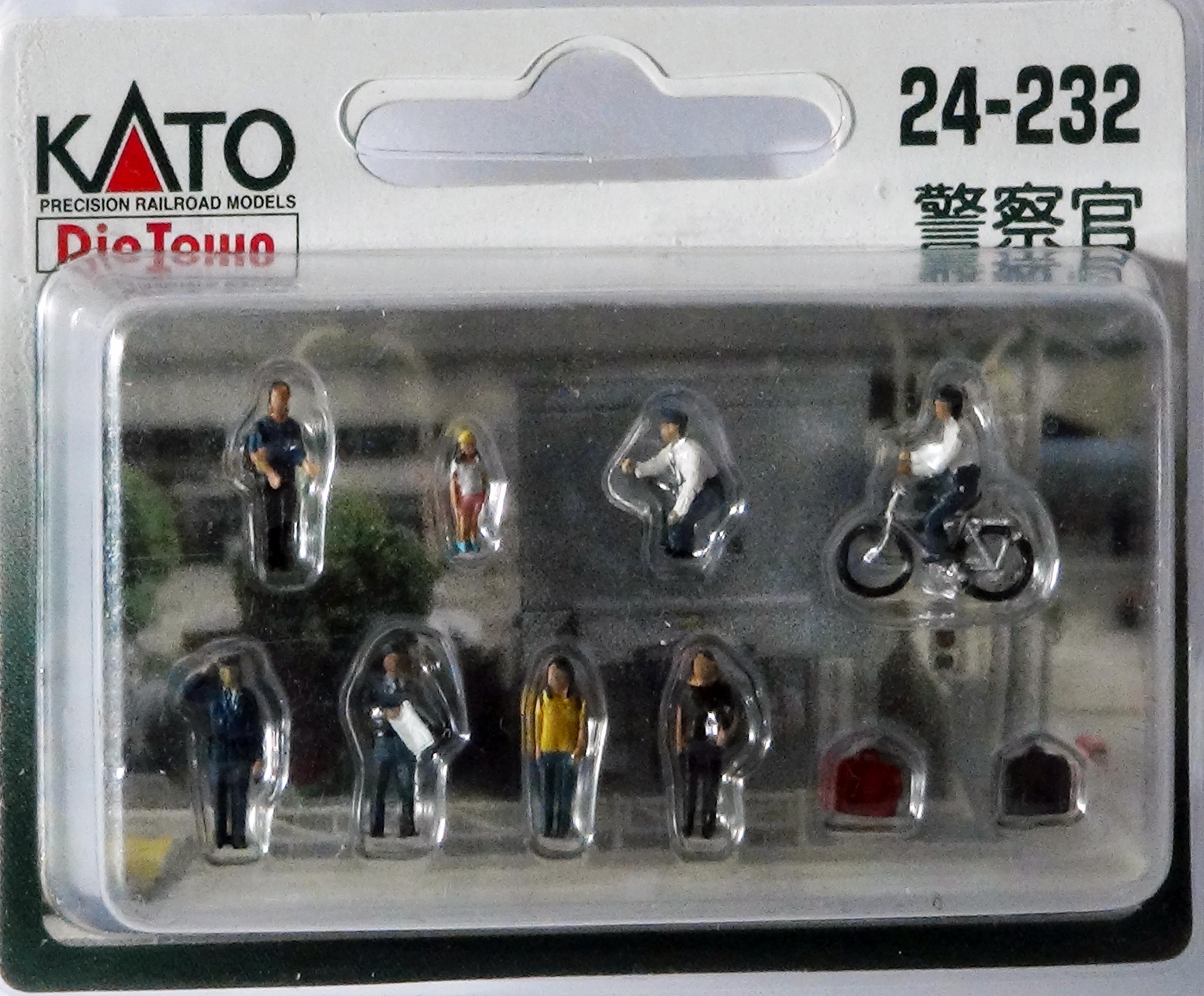 KATO 7024232 <br/>Figuren Polizisten