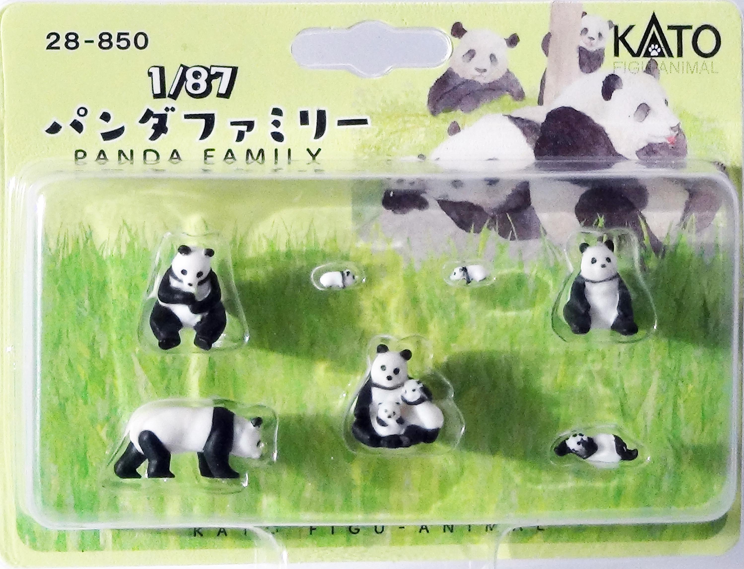 KATO 7028850 <br/>Figuren Panda