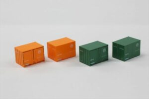 Rokuhan 7297825 <br/>12´Container U19A Japan Soda (orange & green)