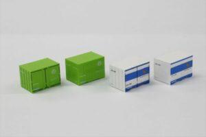 Rokuhan 7297828 <br/>12´Container U19A Japan Soda (grün & blau)