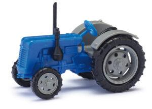 BUSCH 211006813 <br/>Traktor Famulus blau/grau TT