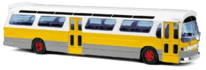 BUSCH 44518 <br/>US Bus Fishbowl ,gelb