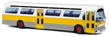 BUSCH 44518 <br/>US Bus Fishbowl ,gelb 1