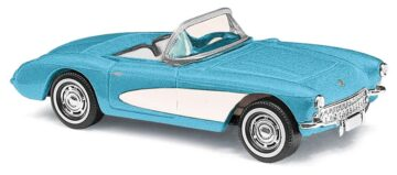 BUSCH 45411 <br/>Corvette Cabrio blau 1