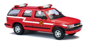 BUSCH 46402 <br/>Chevrolet Blazer Fire Chief 1